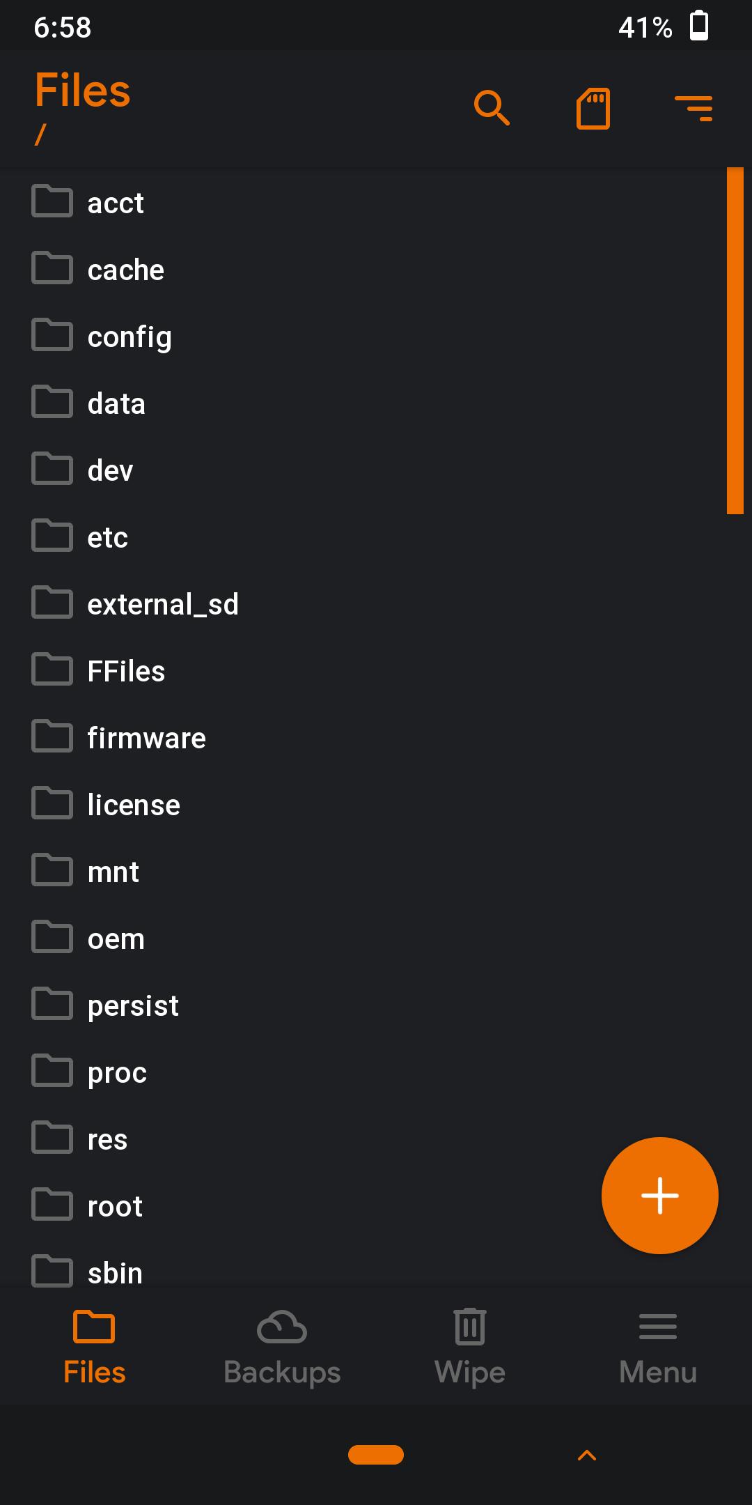 Screenshot 2019 05 15 06 58 54 - Recovery Orange Fox No Mi 9T - Redmi K20